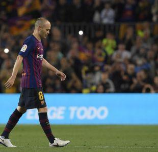 [VIDEO] Así fue la emotiva despedida de Andrés Iniesta del Barcelona