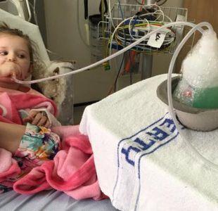 La niña que no puede disfrutar el verano por una rara enfermedad que no tiene nombre ni cura