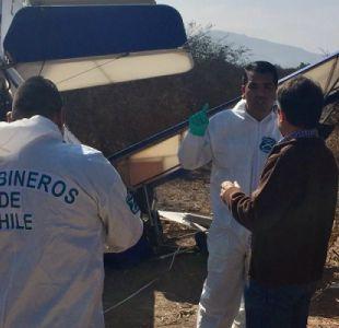 Avioneta que se estrelló en Copiapó dejó un muerto