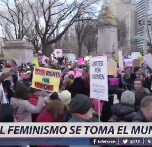 [VIDEO] El feminismo se toma el mundo