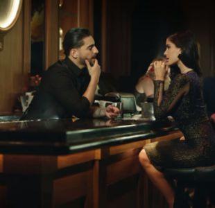 [VIDEO] Felices los 2: Maluma besa a su novia en pleno concierto