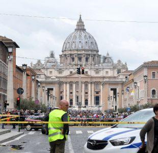 [FOTOS] Evacúan inmediaciones del Vaticano por aviso de bomba