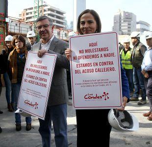 ¿Cómo se cursó el primer parte por acoso callejero en Las Condes y qué multa arriesga el infractor?