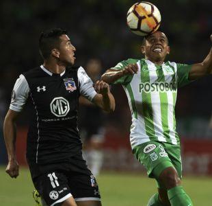 [Minuto a Minuto] Colo Colo igualó con Atlético Nacional por la Libertadores