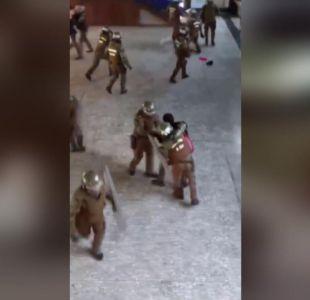[VIDEO] Carabineros abre investigación por violento desalojo de toma de Instituto Nacional
