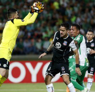 [VIDEO] El empate sin goles entre Colo Colo y Atlético Nacional por la Libertadores