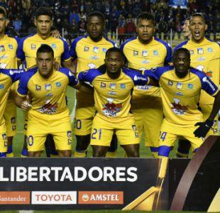 [VIDEO] La emotiva despedida de Delfín de su primera Copa Libertadores