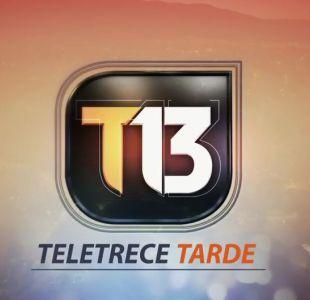 Revisa la edición de T13 Tarde de este 31 de julio