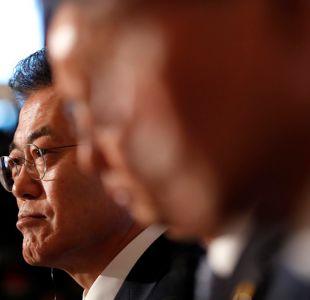 La reveladora foto del presidente de Corea del Sur luego que Trump cancelara cumbre con Kim Jong Un