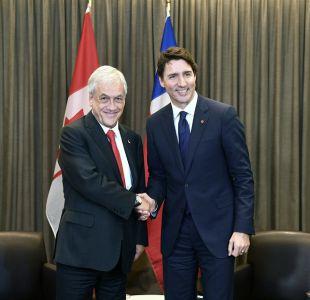 [VIDEO] Piñera destacó anuncios en agenda de género en diálogo con Primer Ministro de Canadá