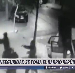 [VIDEO] Inseguridad se toma el barrio República