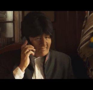 [VIDEO] La molestia en Bolivia por imitación de Stefan Kramer a Evo Morales