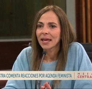 """[VIDEO] Ministra de la Mujer sobre educación no sexista: """"Esa es una tarea del Mineduc"""""""