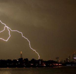 La madre de todas las tormentas dejó 20.000 rayos en Reino Unido