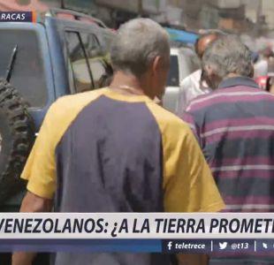 [VIDEO] Venezolanos en Chile: ¿a la tierra prometida?