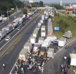 Brasil: Temer anuncia concesiones a camioneros para terminar huelga