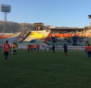 [VIDEO] La Roja masculina iguala ante Argentina en su debut en Cochabamba 2018