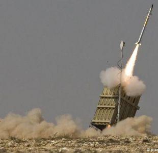 Al menos 25 proyectiles fueron lanzados desde Gaza a Israel