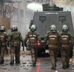 [VIDEO] Denuncian nueva agresión en desalojo del Confederación Suiza