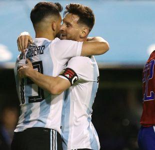 Argentina se despide de su hinchada con goleada sobre Haití en la previa de Rusia 2018