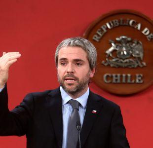 """Blumel: """"Presentaremos un proyecto que regula las relaciones de altas autoridades con familiares"""
