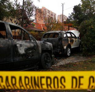 [VIDEO] Lavín califica de extraña la quema de dos autos en Las Condes