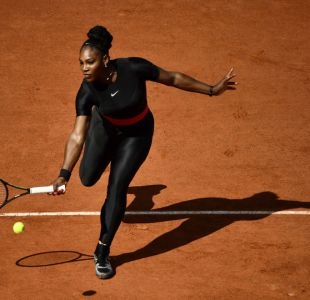 [FOTOS] Serena Williams se inspira en Pantera Negra en su regreso al tenis