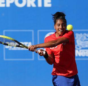 Daniela Seguel avanza en exitosa jornada para tenistas chilenos en Cochabamba 2018