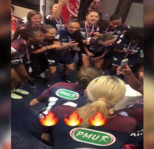 """[VIDEO] """"Tiane"""" Endler celebra en Francia con el Paris Saint-Germain"""
