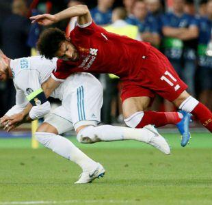 [VIDEO] Desde insultos hasta amenazas de muerte: el calvario de Sergio Ramos tras lesión de Salah