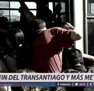 [VIDEO] Fin del Transantiago y más líneas del Metro