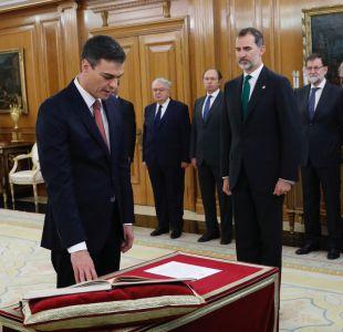 El socialista Sánchez asume como nuevo presidente de gobierno español