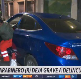 [VIDEO] Carabinero en retiro frustró asalto en San Bernardo