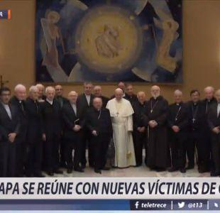 [VIDEO] Papa Francisco se reúne con nuevas víctimas de Chile