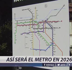 [VIDEO] Dónde pasarán las nuevas líneas de metro