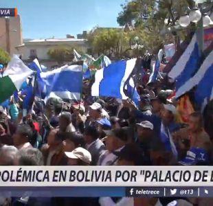 [VIDEO] Polémica en Bolivia por palacio de Evo
