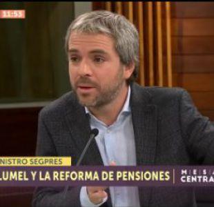 [VIDEO] Gonzalo Blumel detalló la hoja de ruta del Gobierno tras la Cuenta Pública 2018