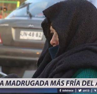 [VIDEO] La madrugada más fría del año