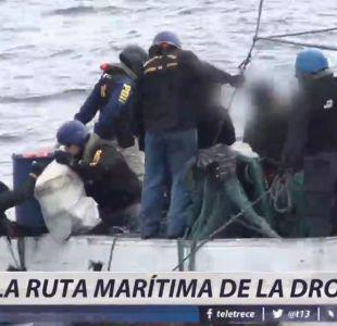 [VIDEO] La ruta marítima de la droga