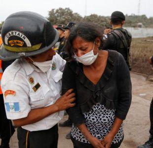 Volcán de Fuego de Guatemala: las desoladoras escenas que enfrentan los rescatistas