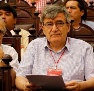 Camilo Escalona y caso OAS: El PS no tuvo ningún vínculo con estas corruptelas