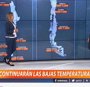 [VIDEO] ¿Continuarán las bajas temperaturas?