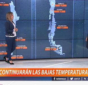 [VIDEO] ¿Continuarán las bajas temperaturas?