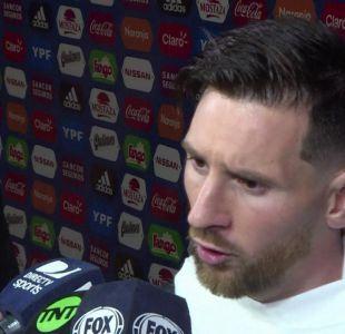 [VIDEO] La furia de los palestinos con Lionel Messi