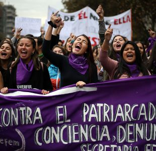 Conoce el recorrido que tendrá la marcha feminista de este miércoles en Santiago