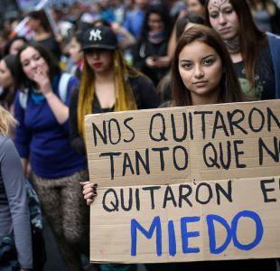 [VIDEO] Movimiento feminista marcha contra Agenda de Equidad de Género impulsada por el gobierno