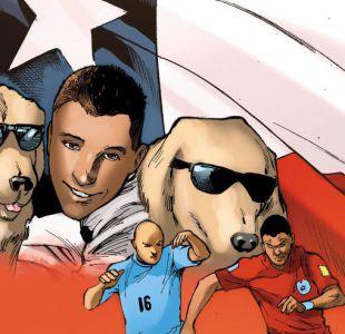 Cómic de Marvel sobre el Mundial de Rusia tiene como protagonista a Alexis... en vacaciones