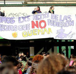 [VIDEO] Intendencia cifra convocatoria de marcha feminista en 15 mil personas