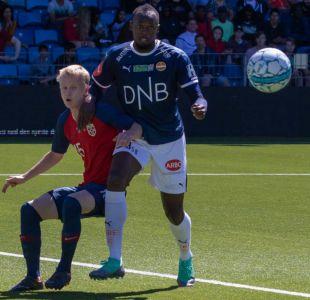 [VIDEO] Usain Bolt hace su debut como futbolista en Noruega con el número 9.58