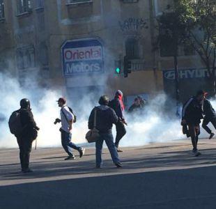 Intendenta Rubilar repudia ataque a equipo de Bienvenidos durante marcha feminista